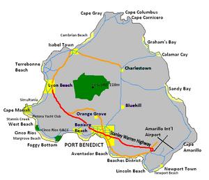 Map of Pintona detailled