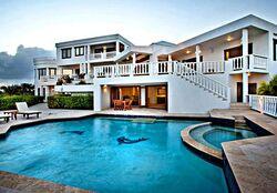 Beach-house-Caribbean