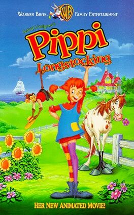 Pippi Longstocking 1994 VHS