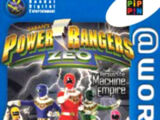 Power Rangers Zeo Versus The Machine Empire