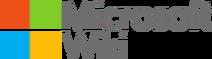 Microsoft-Wiki-wordmark for friends