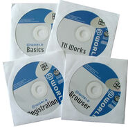 PW @WORLD bundled discs