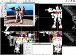 Mac Gundam Virtual Modeler Pro screenshot