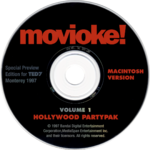 PWMac Movioke! TED7 disc