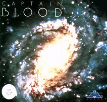 DOS Captain Blood cover