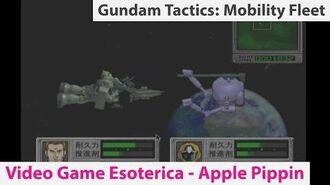 Gundam Tactics Mobility Fleet 0079 - Apple Bandai Pippin - Video Game Esoterica