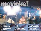 PW Movioke menuscreen