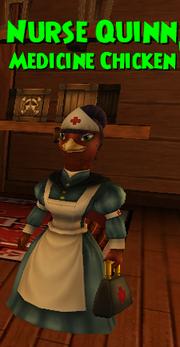 (Companion) Crown Shop Nurse Quinn (Medicine Chicken)
