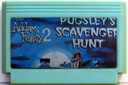 The addams family 2 pugsleys scavenger hunt