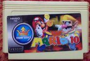 Super Mario Bros 10 Kung Fu Mari