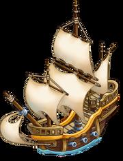 Ship-caravel