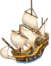 Ship-caravel