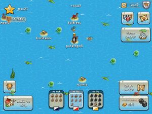 Island attack