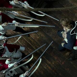 The soldiers capture Henry. (<i>DMTNT</i>)