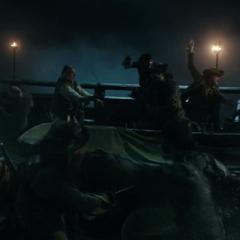 The battle aboard the <i>Black Pearl</i>. (<i>DMTNT</i>)