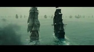 Pirates of the Caribbean At World's End-The Black Pearl and The Flying Dutchman vs Endeavor