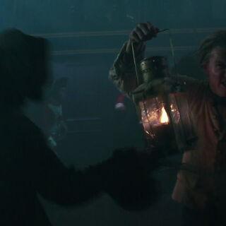 The sailor stabbed by Lesaro. (<i>DMTNT</i>)