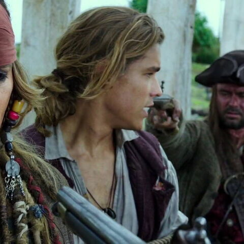 The pirate attends Jack and Beatrice's wedding.