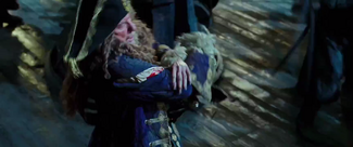Barbossa wounded