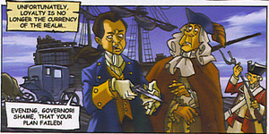 Hawkins' ship