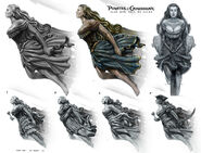 DMTNT Concept Art Ruddy Rose figurehead