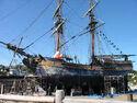 Pirate Ships-Dry dock ship