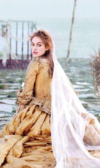 Elizabeth Swann S Wedding Dress Potc Wiki Fandom
