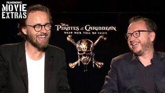 Pirates of the Caribbean 5 (2017) Joachim Rønning & Espen Sandberg talk about the movie