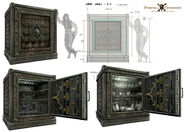 DMTNT Concept Art Saint Martin Bank Safe