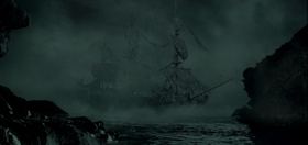 Black Pearl Ghost Ship