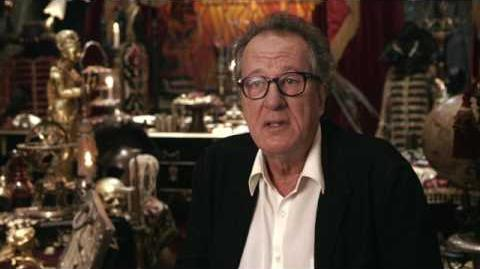 GEOFFREY RUSH Pirates of the Caribbean Dead Men Tell No Tales