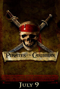 Pirates of the Caribbean- The Curse of the Black Pearl Teaser Poster