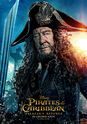 Pirates of the Caribbean Salazar's Revenge (UK) Character Poster 3 - 3 - Geoffrey Rush