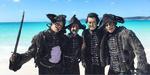 Salazar's crew BTS