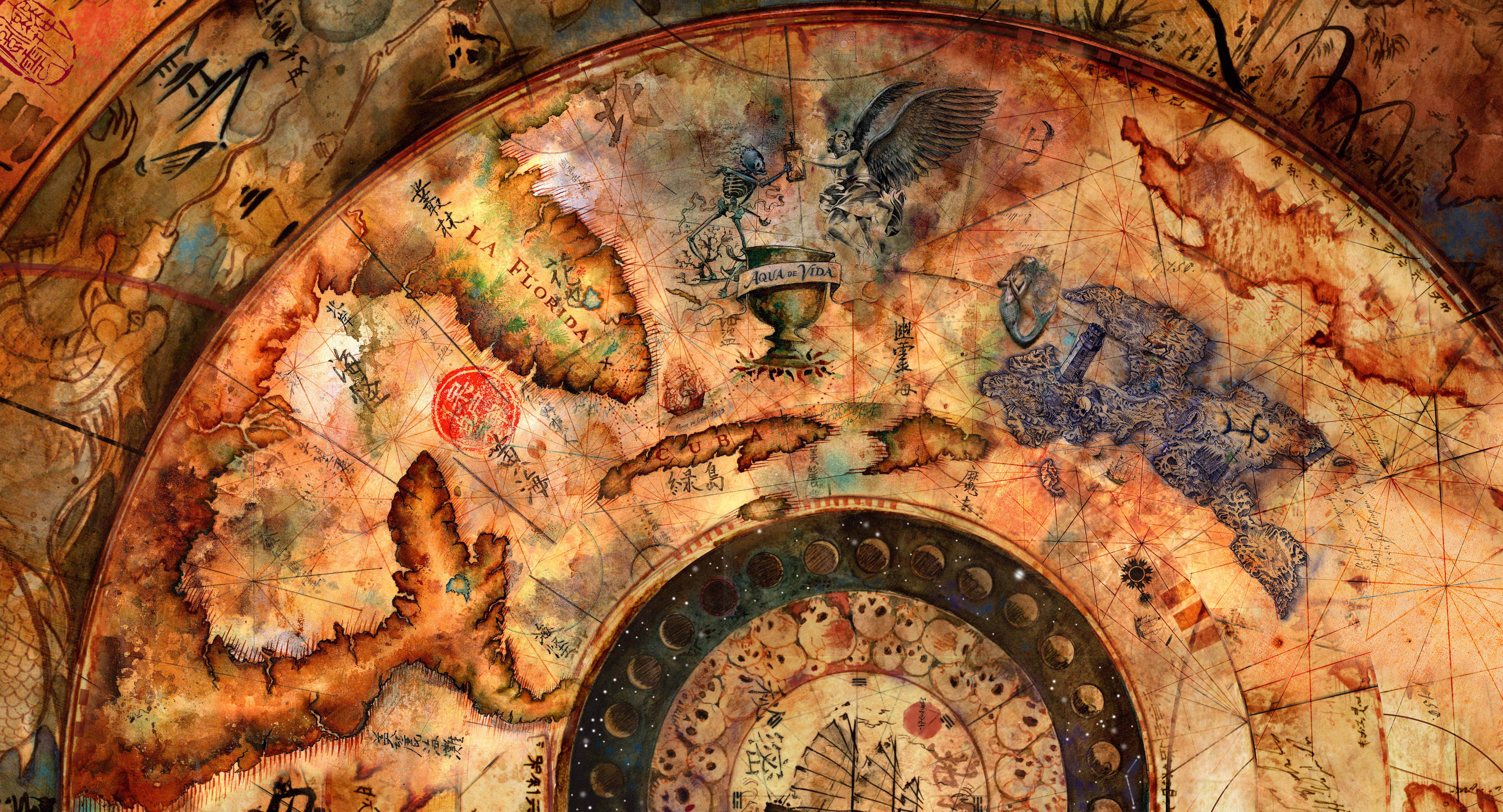 Pirates Of The Caribbean Map Mao Kun Map | PotC Wiki | FANDOM powered by Wikia