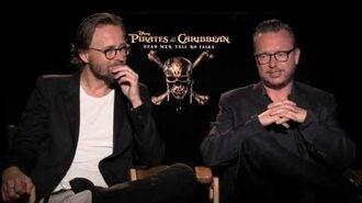 Pirates of The Caribbean Dead Men Tell No Tales Directors Interview