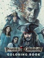 Pirates of the Caribbean Coloring Book - Great Coloring Book for Kids and Adults