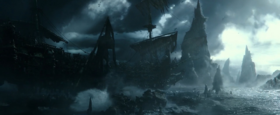Silent Mary sails