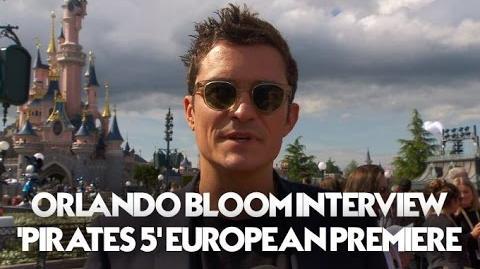 Orlando Bloom Interview Pirates Of The Caribbean Dead Men Tell No Tales European Premiere (HD)