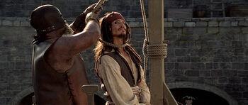 Jack Sparrow Hanging COTBP