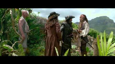 On Stranger Tides - Someone Has To Jump Clip