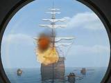 Carrera de la Vega's ship