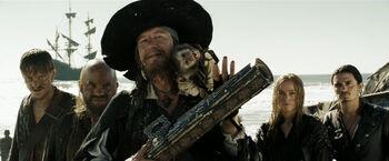 Barbossa Davy Jones Locker Charts AWE