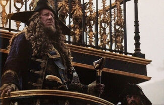 Barbossa on the Revenge