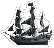 Black Pearl sticker