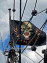 Queen Anne's Revenge Jolly Roger on Set