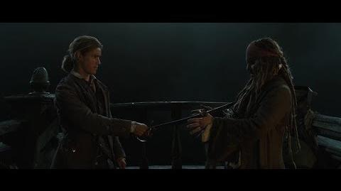 'Pirates of the Caribbean Dead Men Tell No Tales' Deleted Scene (2017)