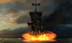Black Pearl destruction