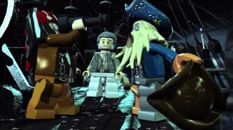 Dead Man's Chest gameplay trailer -- LEGO Pirates of the Caribbean The Video Game