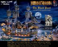 Pirates of the caribbian collectors black pearl ghost ship ad